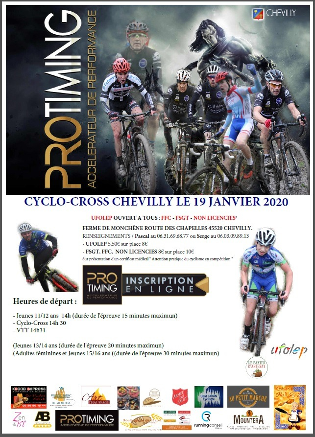 Cyclo-cross de chevilly 2020